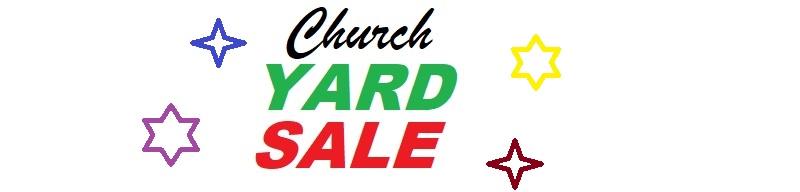 church yard sale 2